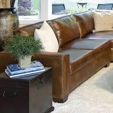 Brown Leather Sectional Sofa Best 25 Brown Leather Sectionals Ideas On Pinterest Living Room