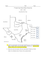 file 2015 7th grade texas history midterm exam review key