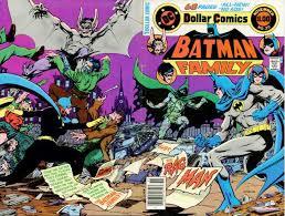 batman of the family the batman family 20 enter the ragman issue