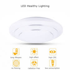 24w led smd flush mount ceiling light wall kitchen bathroom lamp