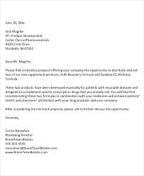 21 business proposal letter examples