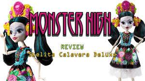 monster high skelita halloween costume monster high review skelita calaveras deluxe youtube