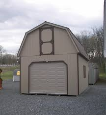 Gambrel Barns by 14x24 2 Story Barn Garage Greencastle Pa Pine Creek Structures