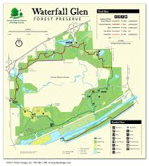 Warren Dunes State Park Map by Waterfall Glen Forest Preserve