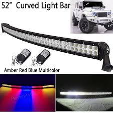 Best Light Bars For Trucks 52 300w White Amber Red Blue Together Strobeflash Led Work Light