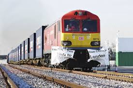 new silk road 1st china london freight train arrives