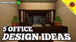 minecraft 5 office design ideas city texture pack ep 1 youtube