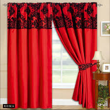 Black Curtains For Bedroom Black And Red Bedroom Curtains Ideas For Basement Bedrooms