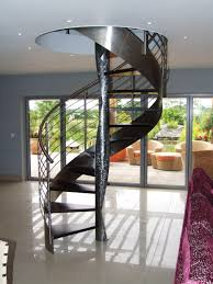 decor white spiral staircase for sale with lovely handrail for