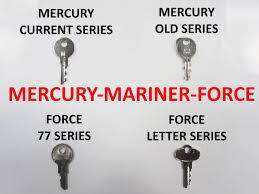 oem ignition keys for mercury mariner u0026 force