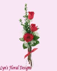 three roses i you lyn s floral designs florist in