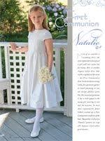 heirloom communion dresses elizabeth s communion dress silk organza and silk dupioni