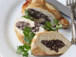 black bean stuffed chicken recipe ian knauer food u0026 wine