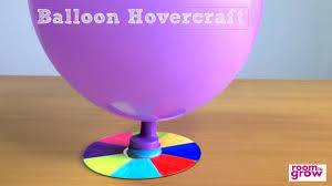 how to make a balloon hovercraft easy crafts for kids youtube