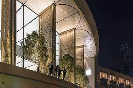 Partners In Building Floor Plans Apple Dubai Mall By Foster Partners Features Giant Installation
