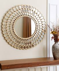 How To Decorate With Mirrors by Large Circular Wall Mirrors 89 Beautiful Decoration Also Modern