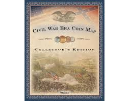 State Series Quarters Collector Map by Coins Of America U S Civil War Coin Map