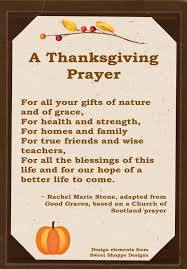 thanksgiving prayer sle festival collections