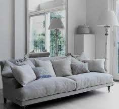 canapé gris perle déco salon gris 88 idées pleines de charme