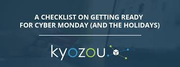 amazon and newegg black friday and cyber monday checklist for getting ready for cyber monday