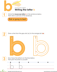 writing lowercase letters worksheets education com