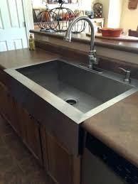 Drop In Farmhouse Kitchen Sink Vault Drop Farmhouse Apron Front Stainless Steel Single Bowl