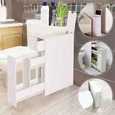 new narrow wood floor bathroom storage cabinet holder organizer