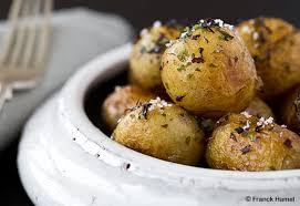 cuisiner les pommes de terre de noirmoutier côtes d agneau et pommes de terre de noirmoutier cuisine notre temps