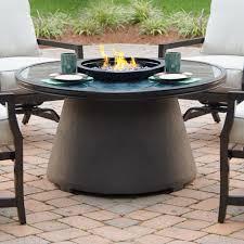 Agio Patio Furniture by Agio Mystique Gas Fire Pit