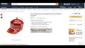trump christmas ornament on amazon reviewed youtube