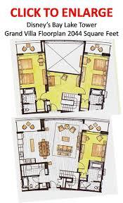 bay lake tower two bedroom villa floor plan centerfordemocracy org