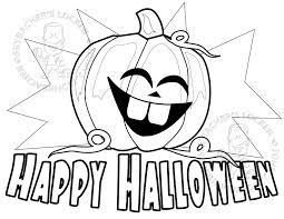 free happy halloween coloring skybacher u0027s locker