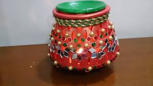 Diwali Decoration Home Ideas by How To Decorate A Pot At Home Home Decorating Interior Design