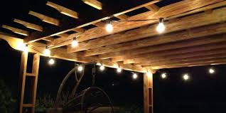Outdoor Globe String Lighting Large Bulb String Lights Photos Of Outdoor Globe Are Big Lowes