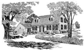 cape cod cottage plans cape cod reproduction hwbdo03614 cape cod from builderhouseplans