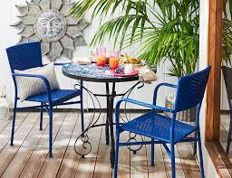 pier one outdoor tables small outdoor spaces pier 1 imports popular furniture throughout 0