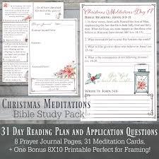 christmas meditations women u0027s bible study instant download