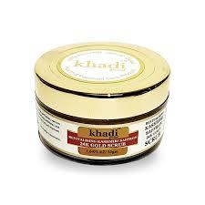 Scrub Gold revitalising kashmiri saffron 24k gold scrub khadi global