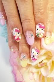 hello kitty nail art designs for 2012