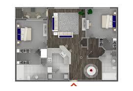 2 bedroom floor plan studio 1 2 bedroom apartments in atlanta highland walk