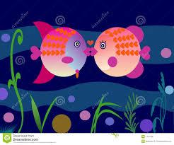 fish valentines valentines fish royalty free stock image image 1751136