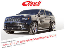 jeep grand srt 2015 product releases pro kit 2015 up jeep grand srt 8