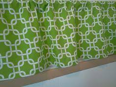Green And White Kitchen Curtains Valance Home Valance And Fiestas