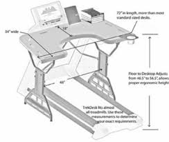 Walking Desk Treadmill A Beginner U0027s Guide To Setting Up A Treadmill Desk
