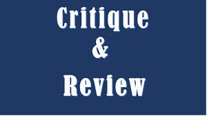 how to write an article critique paper difference between critique and review critique vs review youtube