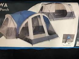 wallowa 13ft x 8ft 8 person tent w hybrid screen porch area ebay