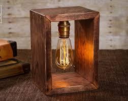 edison lamp etsy