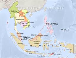 Map Of Se Asia by Southeast Asia By Freeworldmaps Net