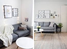 scandinavian living room with grey sofa top 10 tips for adding