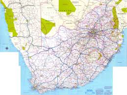 Maps Good Maps South Africa Roads Africa Map